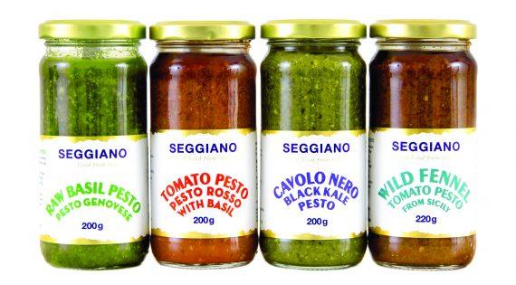 Vegan friendly Raw Basil Pesto from Seggiano