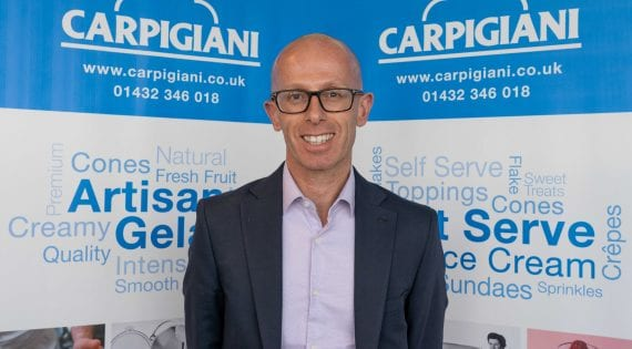 Carpigiani scoop leading sales manager from competition in latest appointment