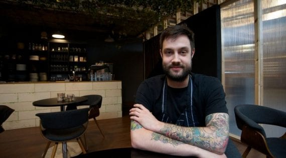 Chef Alex Claridge Takes on Boris