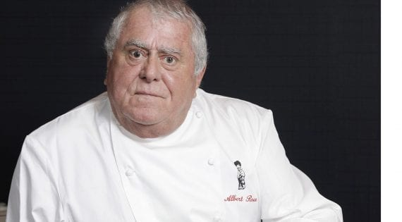 A short statement on the passing of Albert Roux from the Roux Family